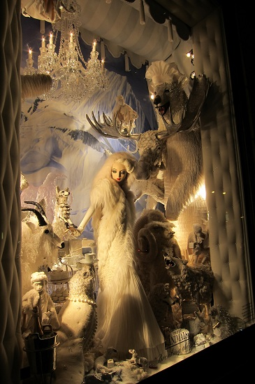 Begrdorf Christmas Window New York City 1