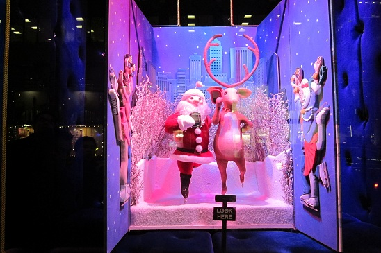 Bloomingdales Christmas Window New York City