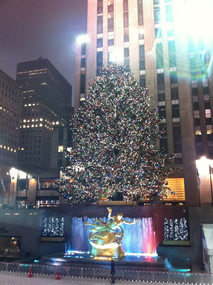 Rockefeller Christmas Tree New York City