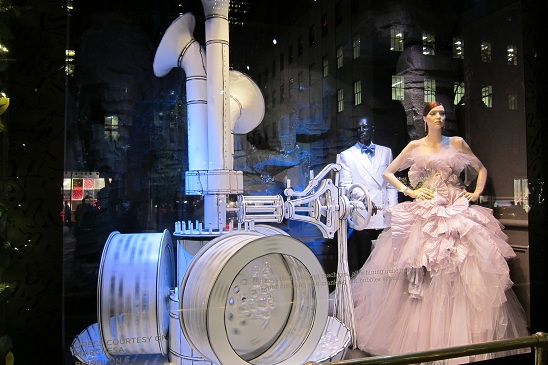Saks Christmas Window New York City 2