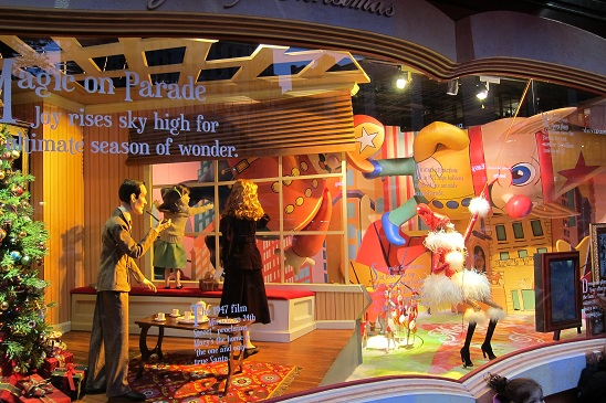 Macy's Christmas Window New York City 3