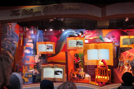Macy's Christmas Window New York City 4